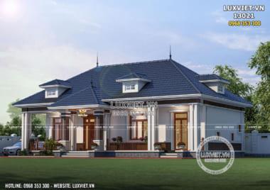 Bản vẽ mẫu nhà cấp 4 đẹp 1 tầng tại Thanh Hóa – LV 13021