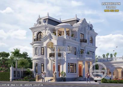 Mẫu biệt thự 3 tầng tân cổ điển đẹp sang trọng và đẳng cấp
