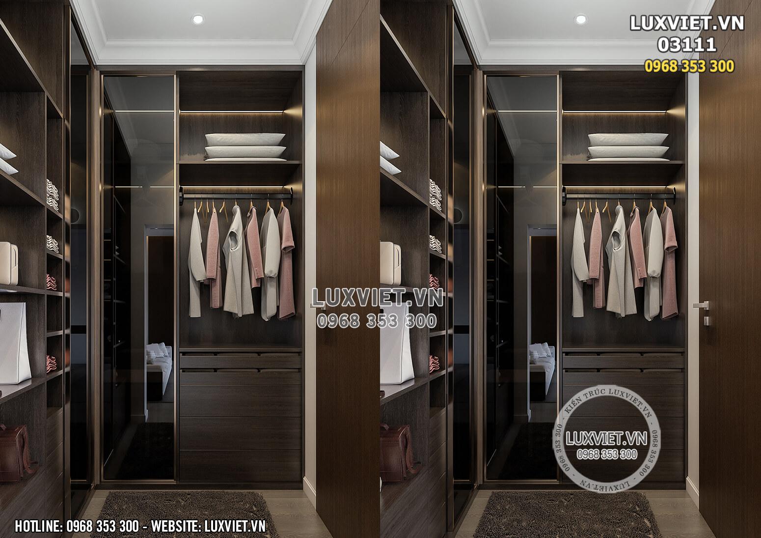 Hình ảnh: Khu vực để quần áo - LV 03111