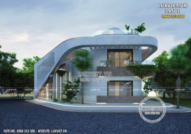 Thiết kế villa hiện đại nghỉ dưỡng trên đồi tại Hòa Bình – LV 39501