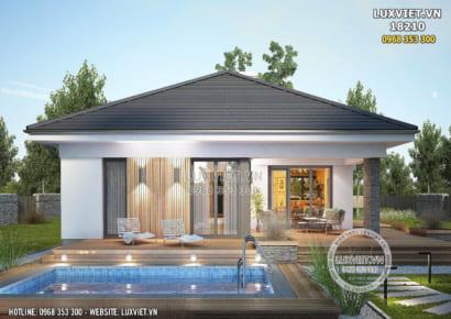 Hình ảnh: Nhà 1 tầng 3 phòng ngủ 100m2 tại Yên Bái - Lv 18210