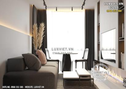 Hình ảnh: Thiết kế nội thất căn hộ mini - LV 03211