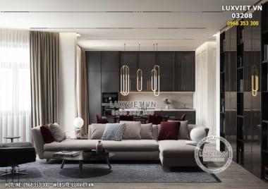 Nhà đẹp: Mẫu thiết kế nội thất chung cư đẹp hiện đại và đẳng cấp tại Hà Nội – LV 03208