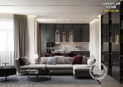 Hình ảnh: Nội thất chung cư đẹp hiện đại - Lv 03208