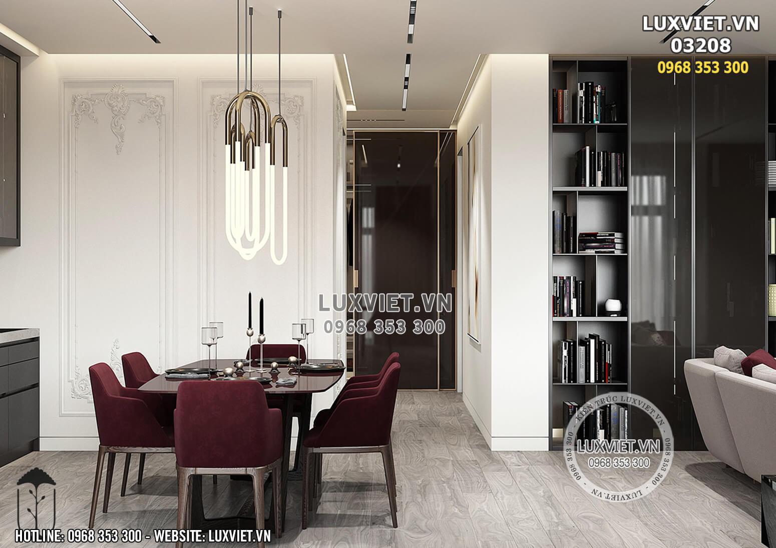 Hình ảnh: Phòng ăn phong cách hiện đại - LV 03208