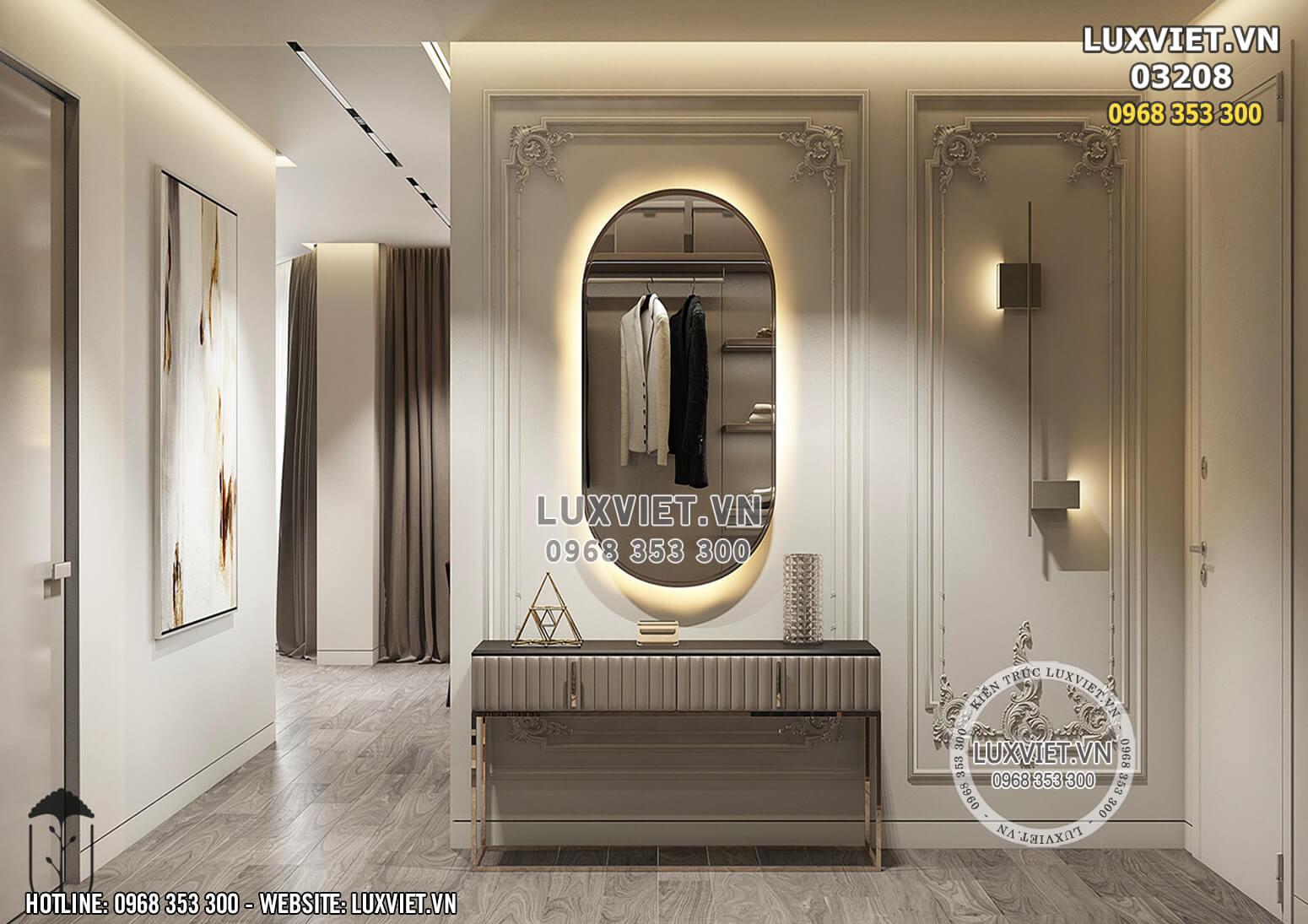 Hình ảnh: Thiết kế nhà chung cư hiện đại - LV 03208