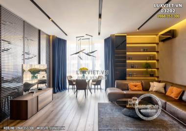 Nội thất chung cư hiện đại hoàn mỹ tại Hà Nội – LV 03202