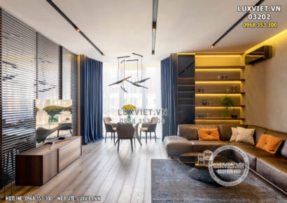Hình ảnh: Thiết kế nội thất chung cư hiện đại - LV 03202