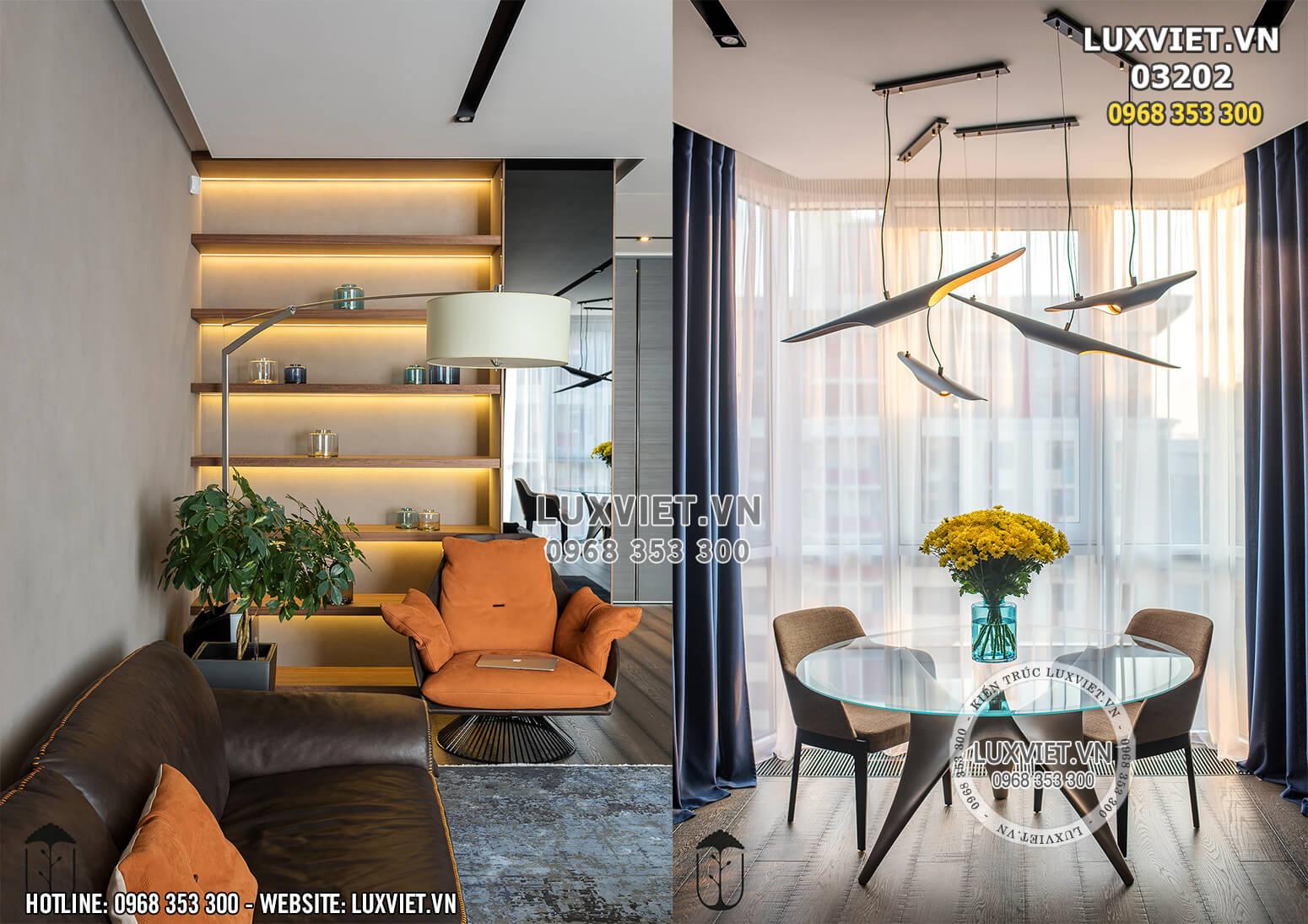 Hình ảnh: Chi tiết nội thất chung cư đẹp - LV 03202