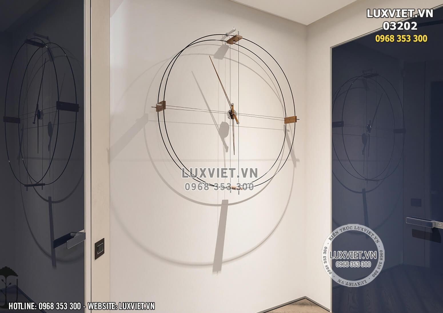 Hình ảnh: Thiết kế nội thất chung cư hiện đại tại Hà Nội - LV 03202