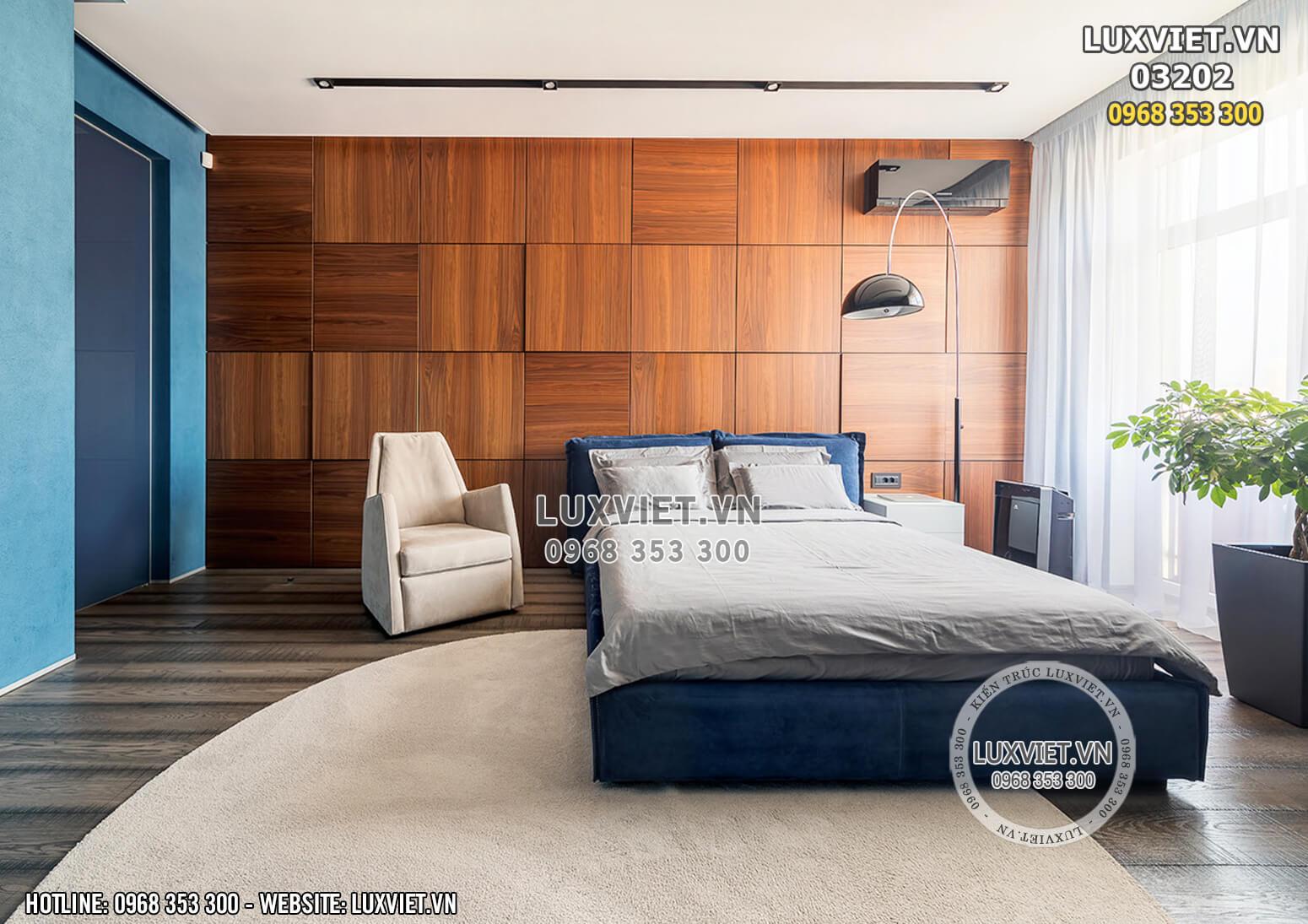Hình ảnh: Phòng ngủ Master nội thất căn hộ tại Hà Nội - LV 03202