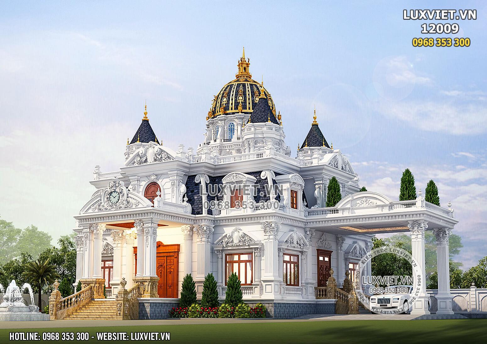 Vẻ đẹp cuốn hút, thu hút mọi ánh nhìn của tòa dinh thự lâu đài kiến trúc tân cổ điển