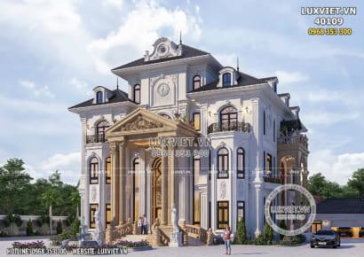 Hình ảnh: Dinh thự 4 tầng tân cổ điển - LV 40109