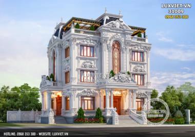 Chiêm ngưỡng mẫu biệt thự 3 tầng đẹp sang trọng và lộng lẫy tại Kiên Giang – LV 31009