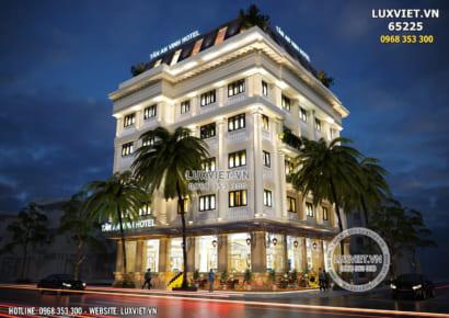 Một góc view đẹp mẫu thiết kế khách sạn tân cổ điển đẹp