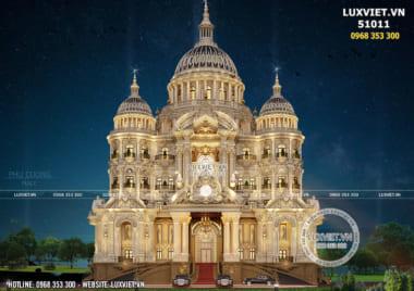 Giải pháp kiến trúc thiết kế lâu đài đẳng cấp và lớn nhất Việt Nam – LV 51011