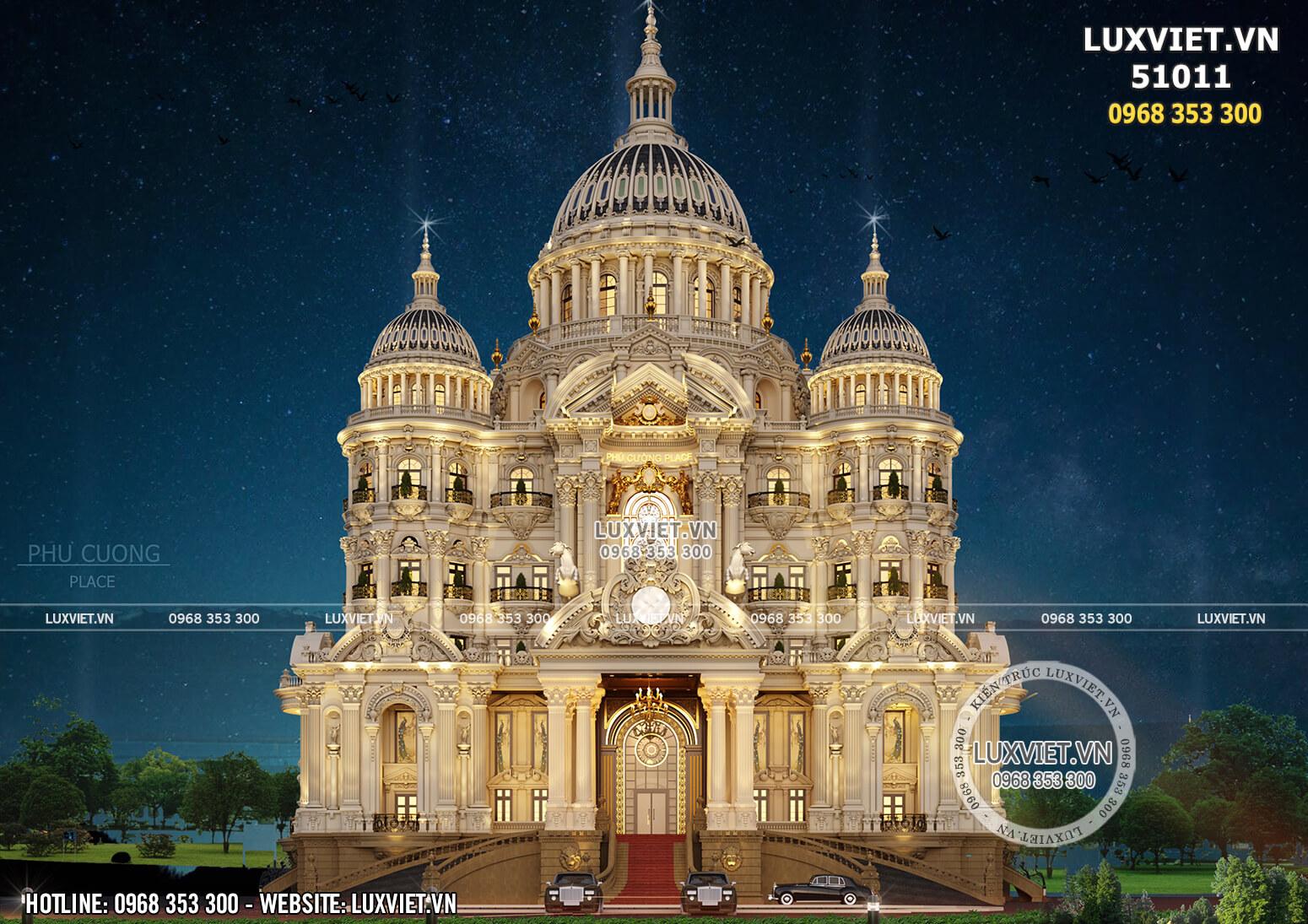 Hình ảnh: Chiễm ngưỡng vẻ đẹp tráng lệ của lâu đài lớn nhất Việt Nam - LV 51011