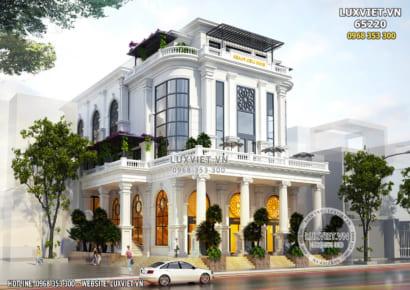 Hình ảnh: Thiết kế nhà hàng đẹp theo phong cách kiến trúc tân cổ điển