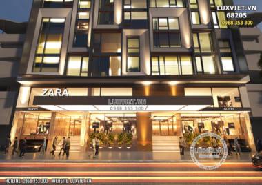 Thiết kế tòa nhà trụ sở văn phòng cho thuê hiện đại và đẳng cấp bậc nhất Việt Nam – LV 68205