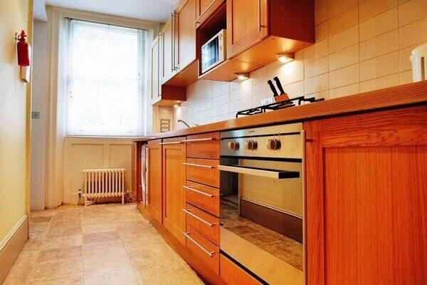Hình ảnh: Vị trí cửa bếp - Sắp xếp nhà bếp theo phong thủy
