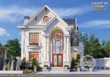 Thiết kế biệt thự mái Thái 2 tầng tân cổ điển tại LUXVIET – LV 23016