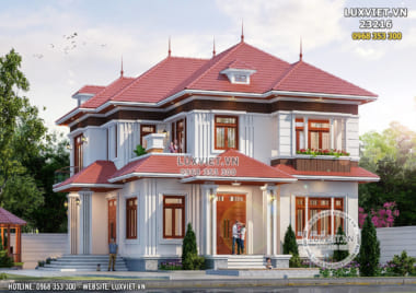 Biệt thự 2 tầng 5 phòng ngủ tại Thanh Oai – Hà Nội – LV 23216