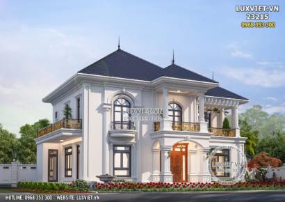 Hình ảnh: Vẻ đẹp hoàn mỹ của lối kiến trúc pháp