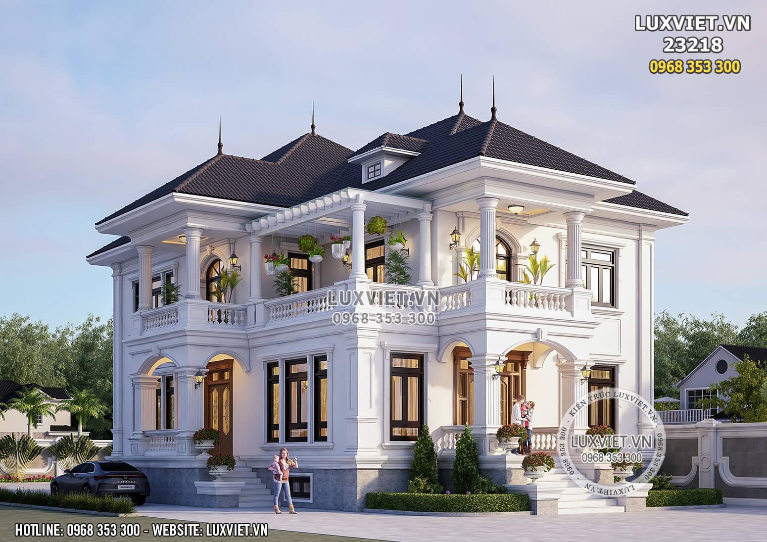 Hình ảnh: Biệt thự 2 tầng đẹp