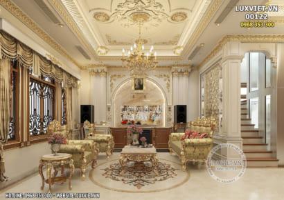 Hình ảnh: Toàn cảnh phòng khách tân cổ điển - LV 00122