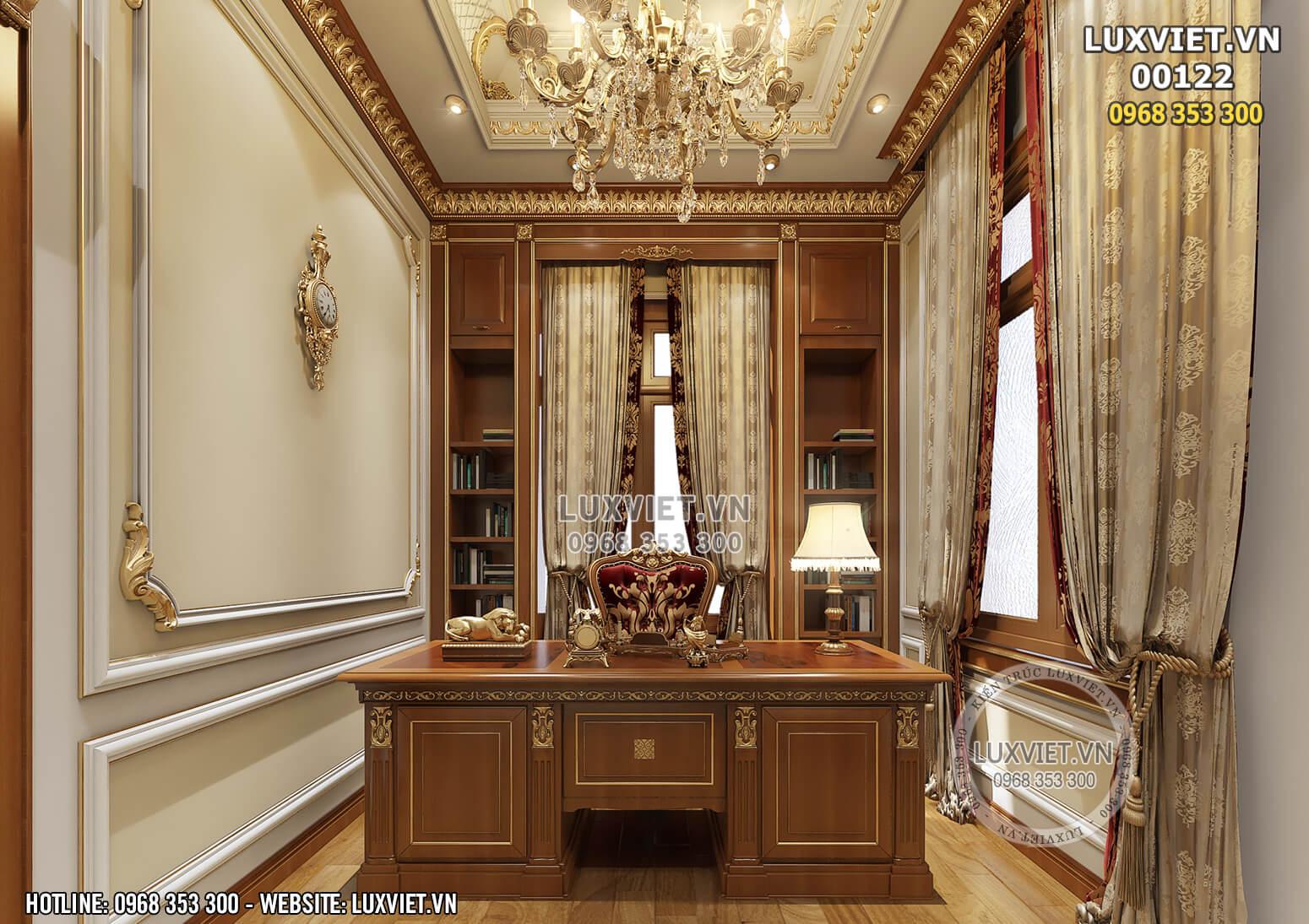 Hình ảnh: Phòng làm việc tân cổ điển thu hút mọi ánh nhìn - LV 00122
