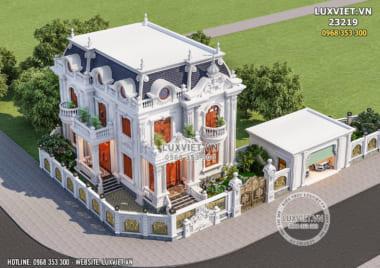 Biệt thự 2 tầng 4 phòng ngủ tại Bắc Ninh – LV 23219