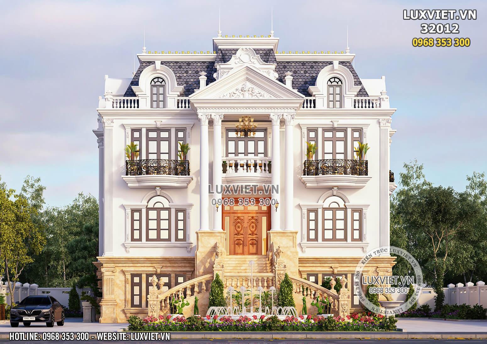 Hình ảnh: Chiêm ngưỡng mặt tiền của biệt thự tân cổ điển rộng 300m2 - LV 32012