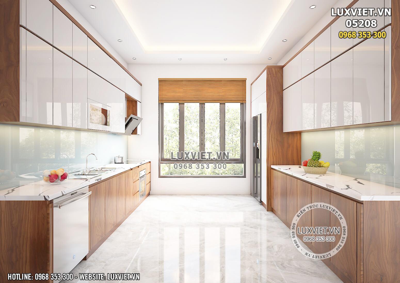Hình ảnh: Khu vực bếp được thiết kế rộng rãi và tiện nghi - LV 05208