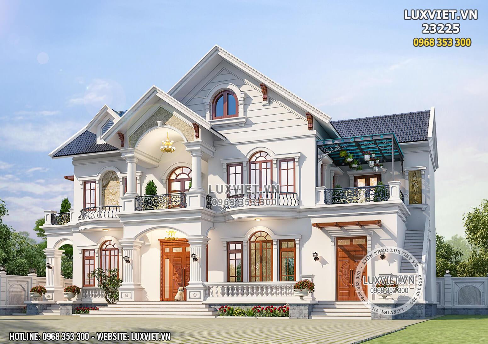 Hình ảnh: Thiết kế biệt thự nhà vườn 2 tầng - LV 23225
