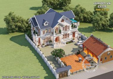 Mãn nhãn với mẫu biệt thự nhà vườn 200m2 đẹp tại Thái Bình – LV 23225