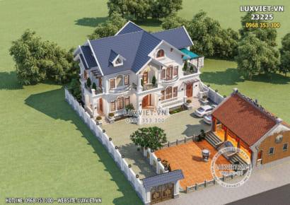 Hình ảnh: Mẫu thiết kế nhà vườn 200m2 đẹp hoàn mỹ - LV 23225