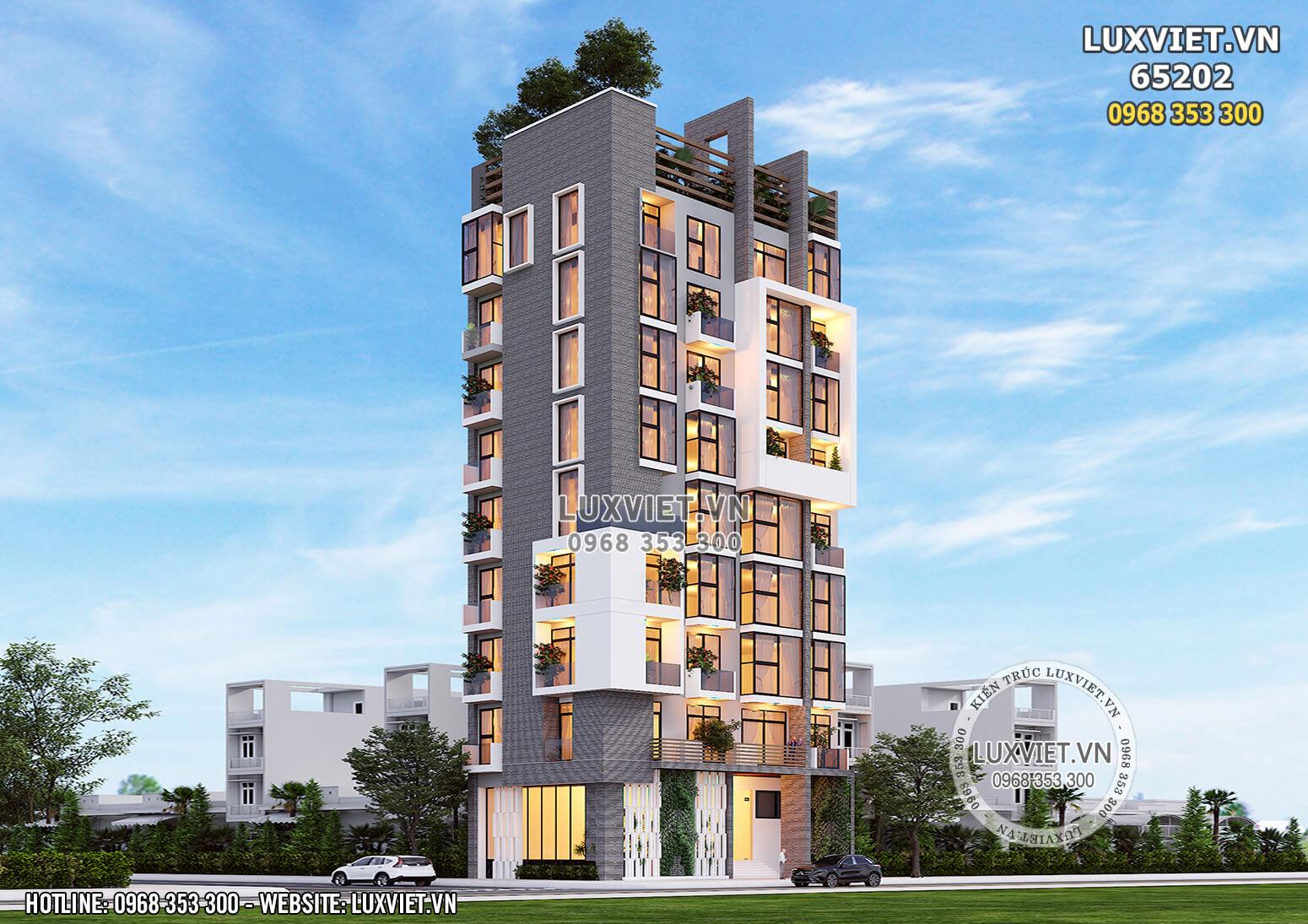 Hình ảnh: Thiết kế khách sạn hiện đại 3 sao đẳng cấp - LV 65202