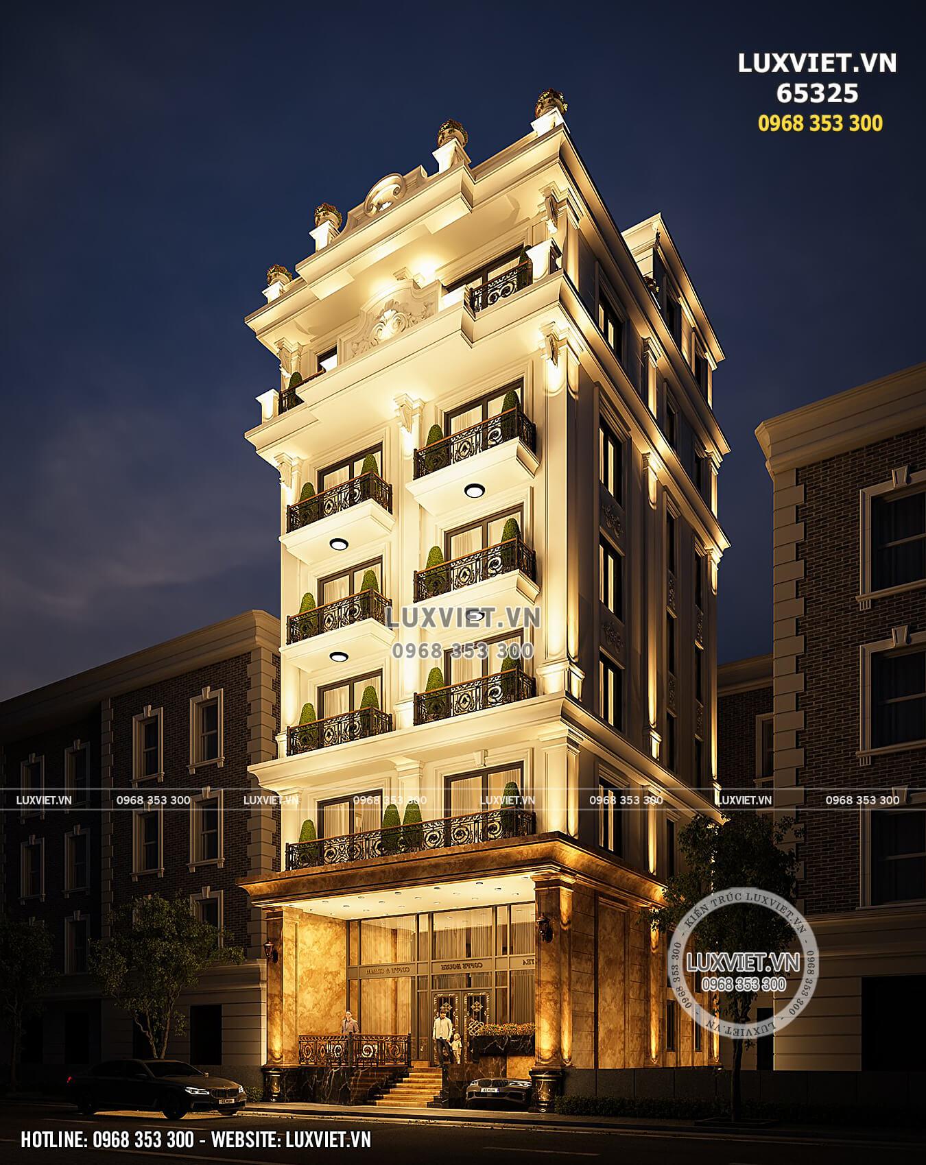 Hình ảnh: Khách sạn mini phong cách tân cổ điển hoa lệ - LV 65325