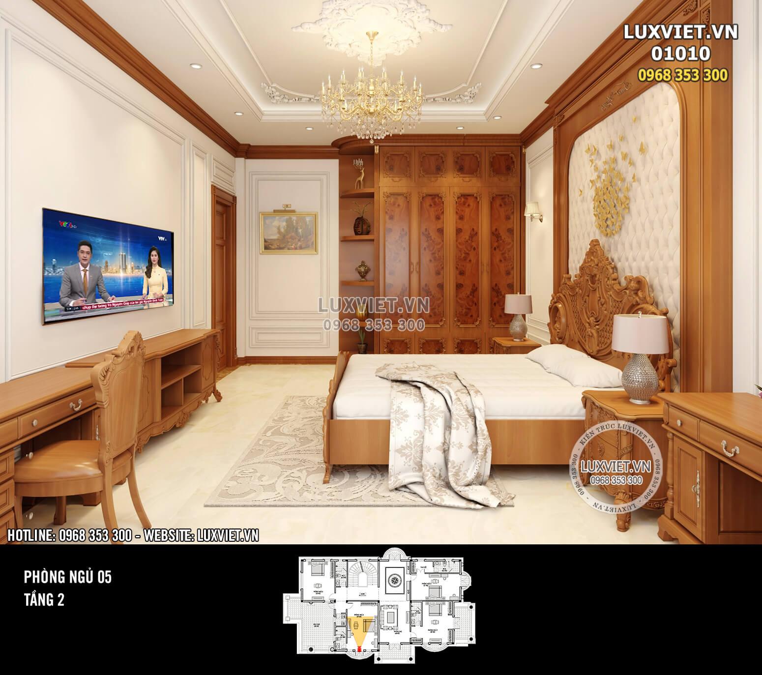 Hình ảnh: Thiết kế nội thất tân cổ điển - LV 01010