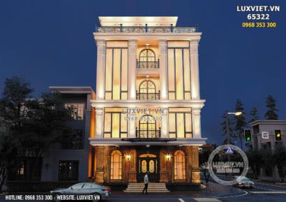 Hình ảnh: Thiết kế tòa nhà 5 tầng tân cổ điển - LV 65322