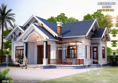 Thiết kế nhà vườn đẹp nhất năm 2021 – LV 11038