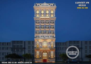 Choáng ngợp với vẻ đẹp lộng lẫy của khách sạn tân cổ điển 10 tầng – LV 65310