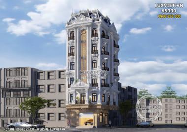 Tòa nhà tân cổ điển 7 tầng đắt giá nhất năm 2021 – LV 65330