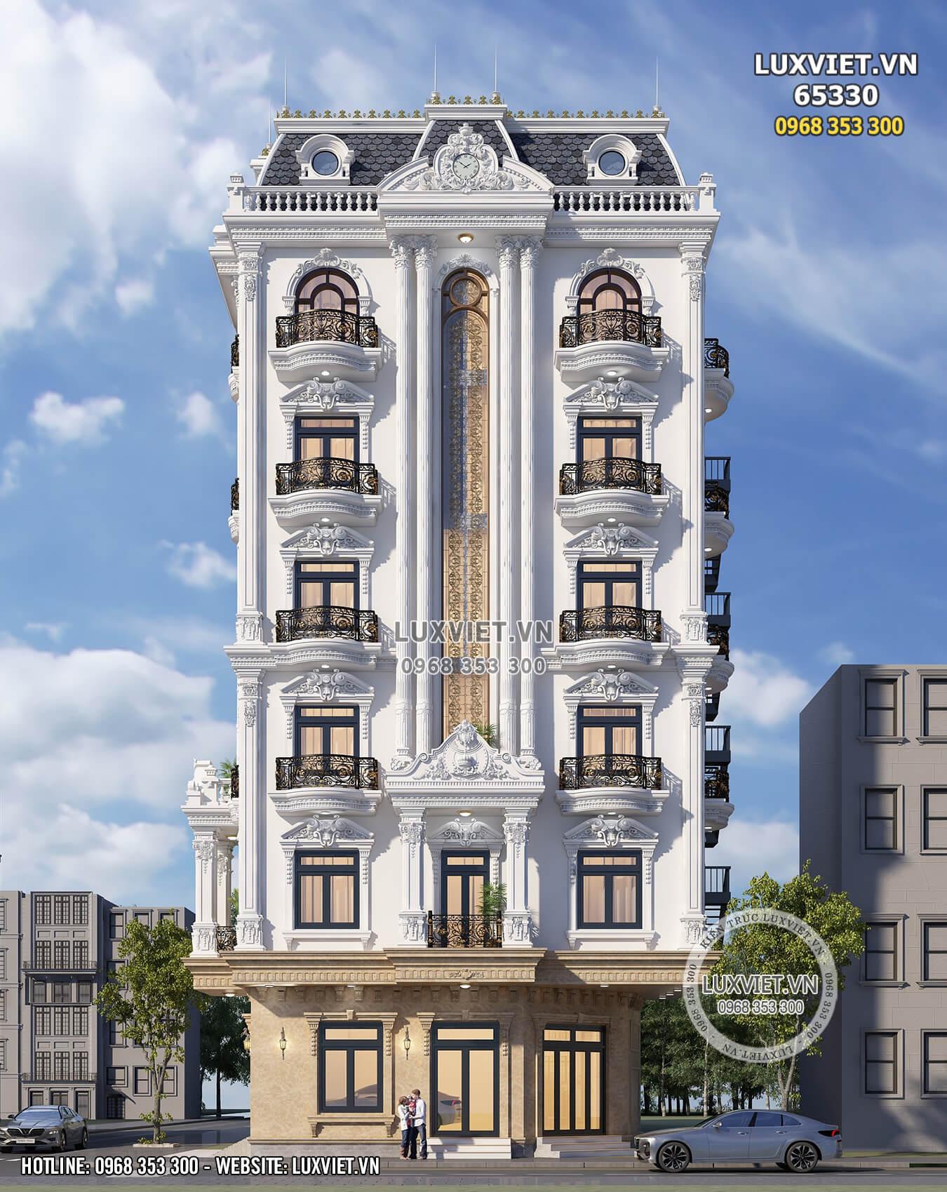 Hình ảnh: Ngắm nhìn vẻ đẹp sang trọng và đẳng cấp của tòa nhà 7 tầng - LV 65330