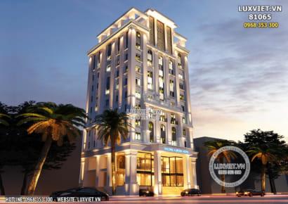 Hình ảnh: Thiết kế khách sạn 3 sao view biển đẹp lộng lẫy - LV 81065