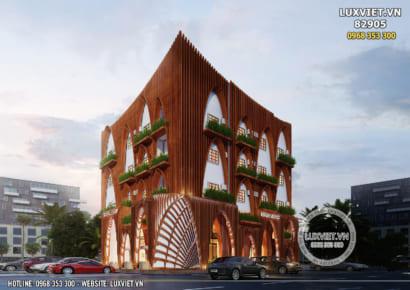 Hình ảnh: Thiết kế nhà hàng kiến trúc á đông đẹp - LV 82905