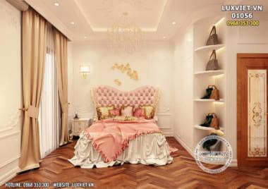 HOT: Mẫu thiết kế nội thất tân cổ điển nhà ống hoàn mỹ nhất – LV 01056