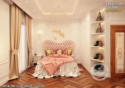 Hình ảnh: Mẫu thiết kế nội thất tân cổ điển nhà ống - LV 01056