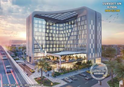 Hình ảnh: Thiết kế tổ hợp văn phòng khách sạn thương mại - LV 82906