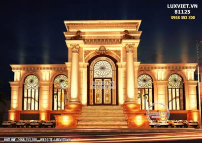 Hình ảnh: Thiết kế nhà hàng tiệc cưới đẹp - LV 81125
